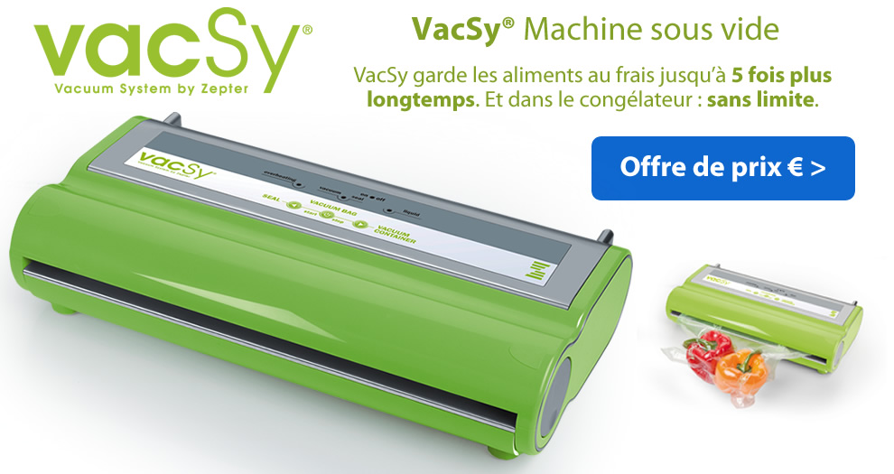 Vacsy Machine sous vide