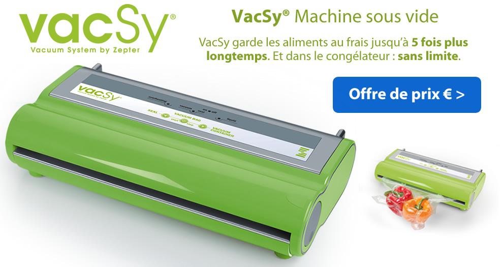Vacsy Machine sous vide